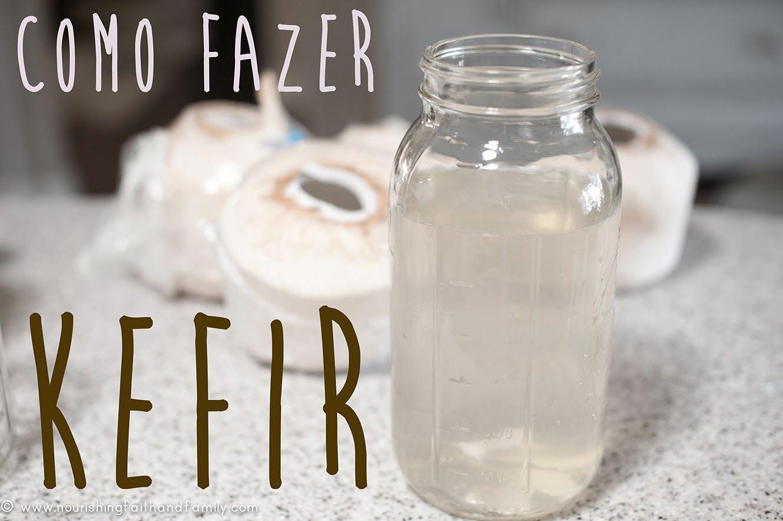 Preparo do Kefir de Água